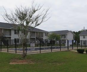 Building, Village Green Apartments