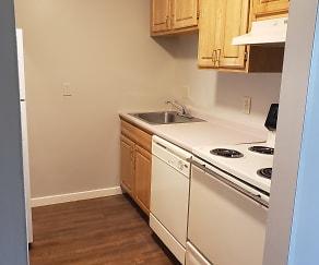 Kitchen, Powdermill Village Apartments