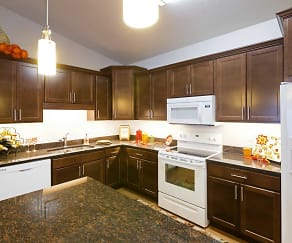 Kitchen, Altoona Towers