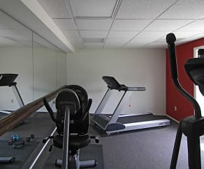 Fitness Weight Room, Springside Manor