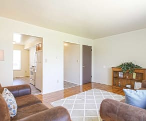 Living Room, Country Way Apartments