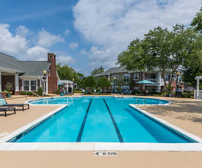 Relaxing Pool with Swim Lanes, The Hudson High House