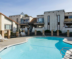 Pool, Montecito Apartments