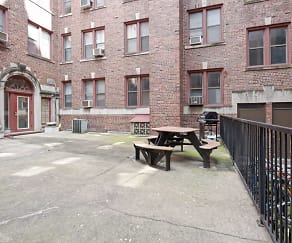 Recreation Area, Langdon Hall Apartments