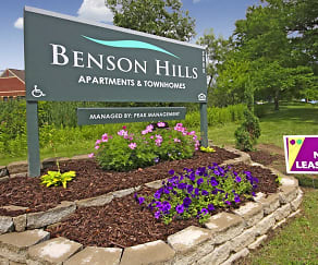 Community Signage, Benson Hills Apartments