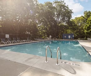 Pool, Park Tower Apartments
