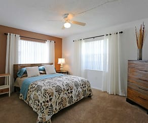 Bedroom, La Aloma Apartments