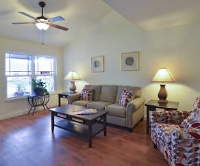 Living Room, The Spinney At Van Dyke Senior Apartments