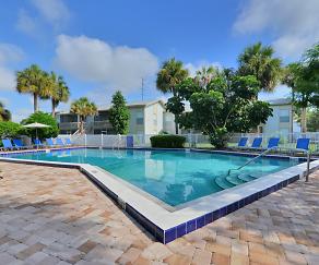 Pool, Bridgewater Apartments