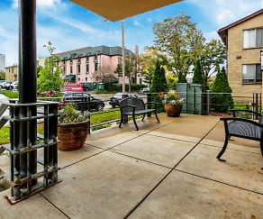 Patio / Deck, McAuley Apartments