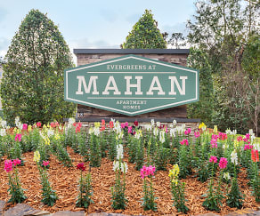 Community Signage, The Evergreens At Mahan
