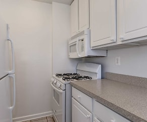 Kitchen, Hill House Apartments