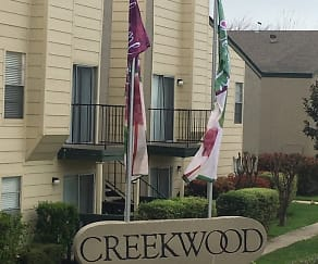 Community Signage, Creekwood Apartments