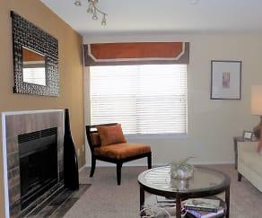 Living Room, Pinehurst Place Apartments