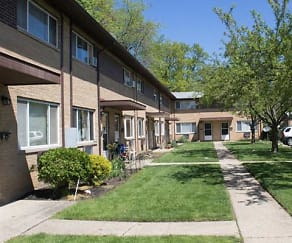 Springcrest Apartments, Willowick Middle School, Willowick, OH