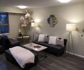 Living Room, 1st Ave Flats