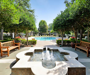 Pool, The Saxony At Chase Oaks