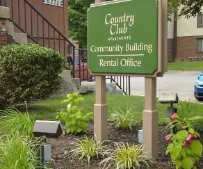 Building, Country Club Apartments