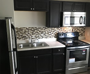 Kitchen, New Rockwood Place Apartments
