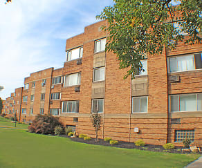 Building, Highland House Apartments