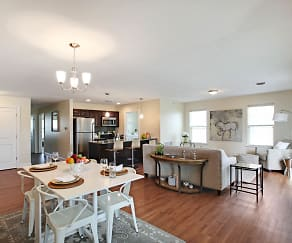 Dining Room, Springs Luxury Apartments