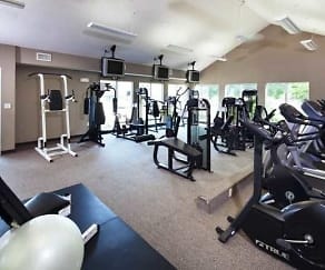 Fitness Weight Room, Old Cheney by Broadmoor