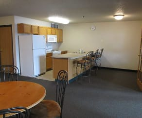 Dining Room, Eastview Apartments
