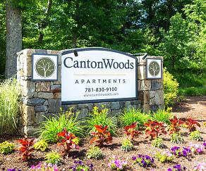 Community Signage, Canton Woods