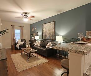 Living Room, Ashton Ridge at West Creek