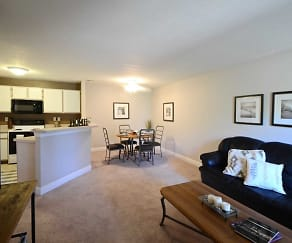 Living Room, Terraces at Northridge