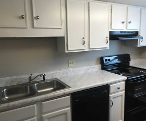 Kitchen, Retreat at Broad River