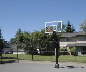 Basketball Court, Parklane Townhomes
