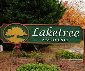 Landscaping, Laketree Apartments