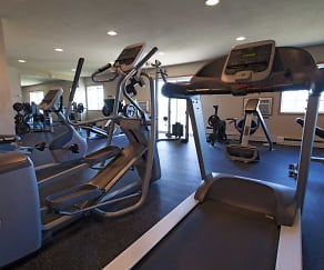 Fitness Weight Room, Roosevelt West