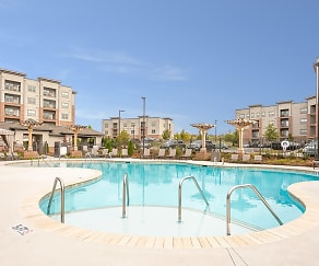 Pool, Aventine Northshore Apartments
