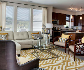 Living Room, The Yards at Fieldside Village