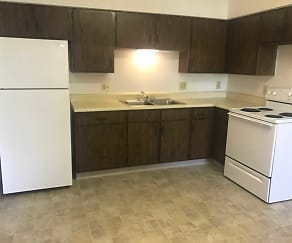 Kitchen, Opportunities Pavillion Senior Living Community (62+)