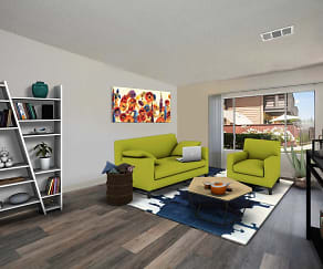 Living Room, California Villages in West Covina