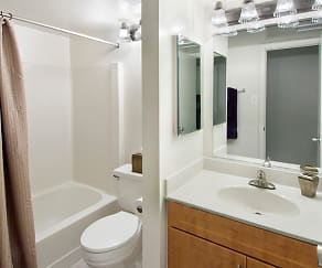 Bathroom, eaves Tysons Corner