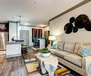 Living Room, The Marq at Weston