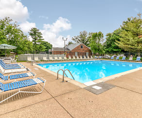 Pool, Ashley Pointe Apartments of Evansville