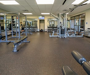 Fitness Weight Room, The Bluffs at Willow Run