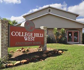 Community Signage, College Hills West Apartments