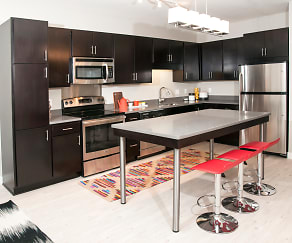 Kitchen, Red 20 Apartments
