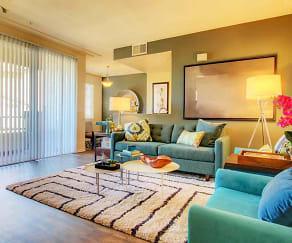 Living Room, Prominence Apartments