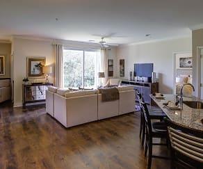 Living Room, Highland Creek Condominiums