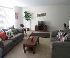 Living Room, Welshwood Apartments