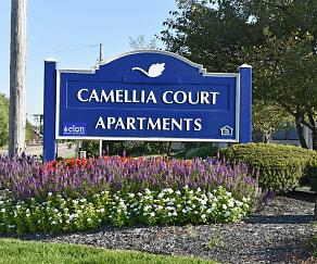 Community Signage, Camellia Court