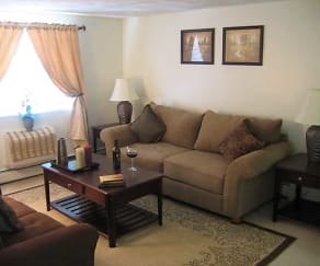 Living Room, J.E. Furnished Apartments Quincy