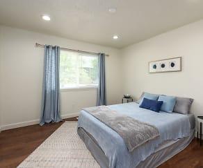 Bedroom, Metro Apartments at Granite City